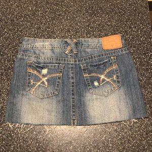 Amethyst Jeans Skirts - Denim Skirt